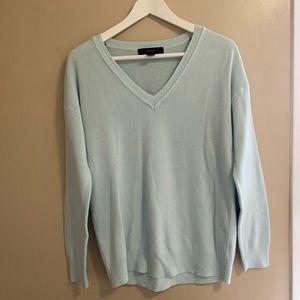 Light Green Forever 21 Sweater
